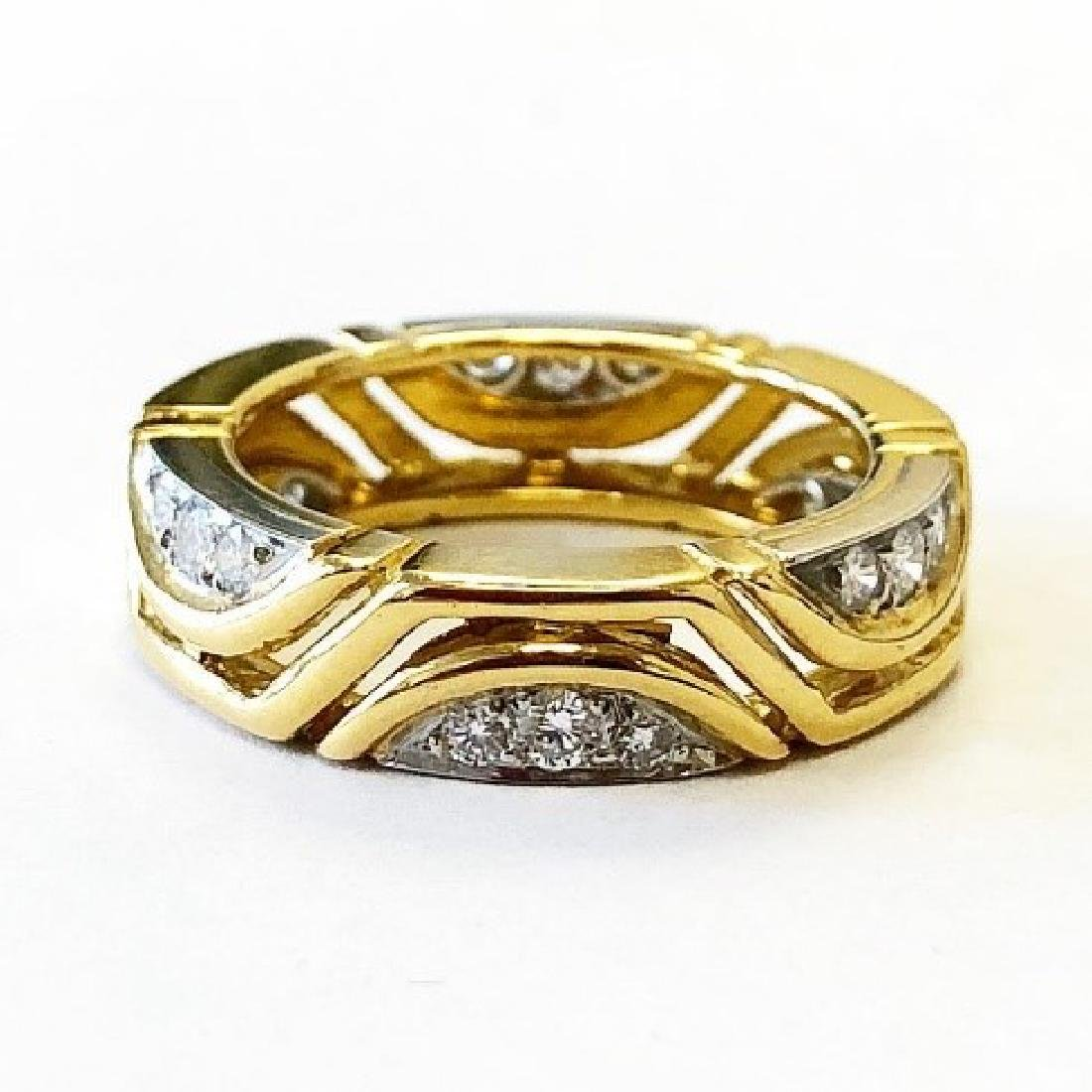 Carvin French Diamond Eternity Band
