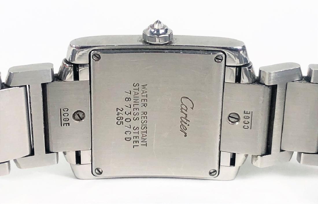 Ladies Cartier Tank Francaise Wrist Watch - 6