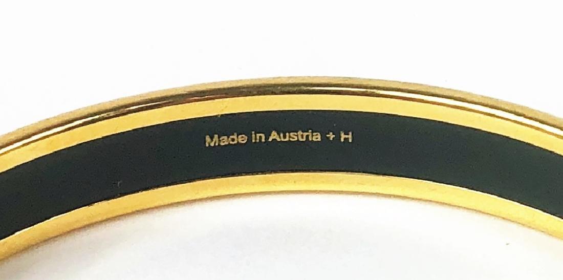 Two Hermes Paris Enamel Painted Bangle Bracelets - 10