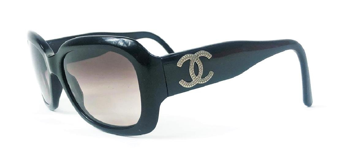 Chanel CC Logo 5102 Black Ladies Sunglasses