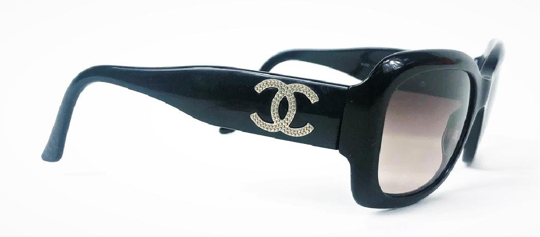 Chanel CC Logo 5102 Black Ladies Sunglasses - 3