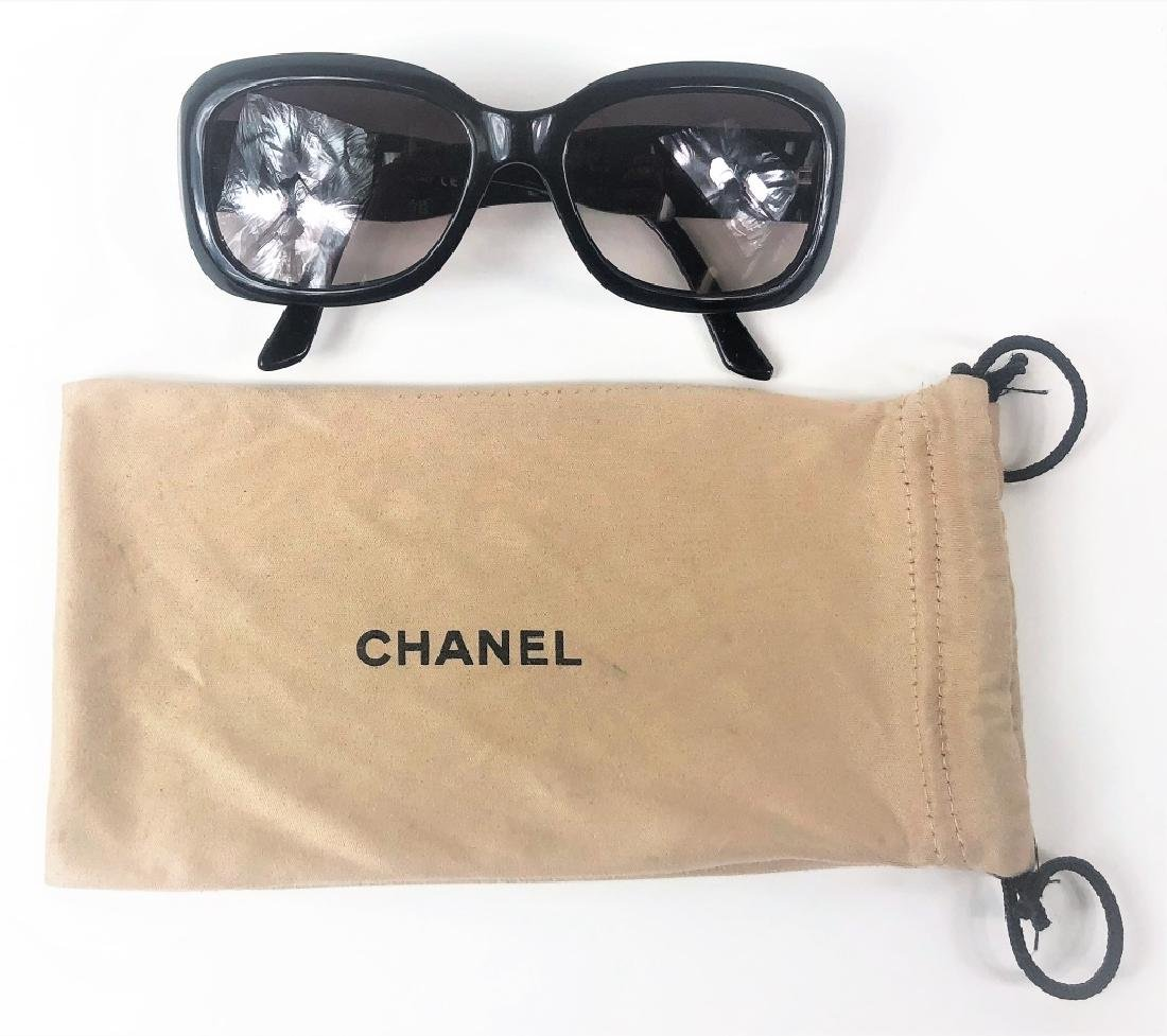 Chanel CC Logo 5102 Black Ladies Sunglasses - 6