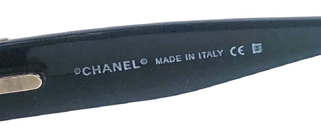 Chanel 5115-Q Black/Chrome CC Logo Sunglasses - 4