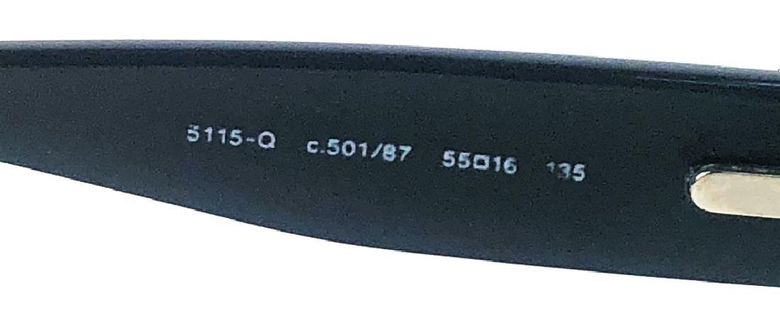 Chanel 5115-Q Black/Chrome CC Logo Sunglasses - 5