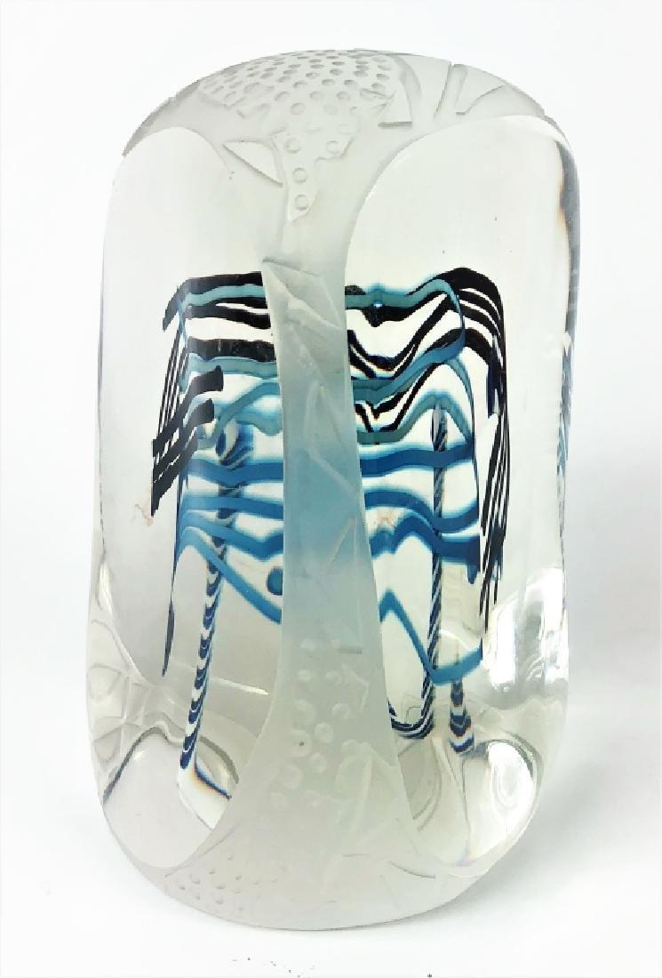 Contemporary Unsigned Art Glass Sculpture