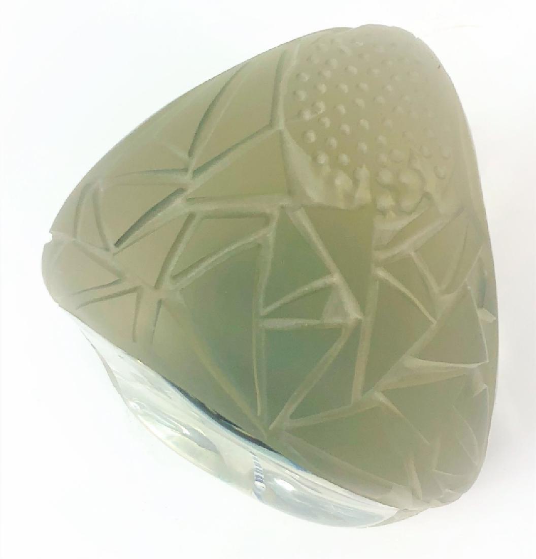 Contemporary Unsigned Art Glass Sculpture - 6