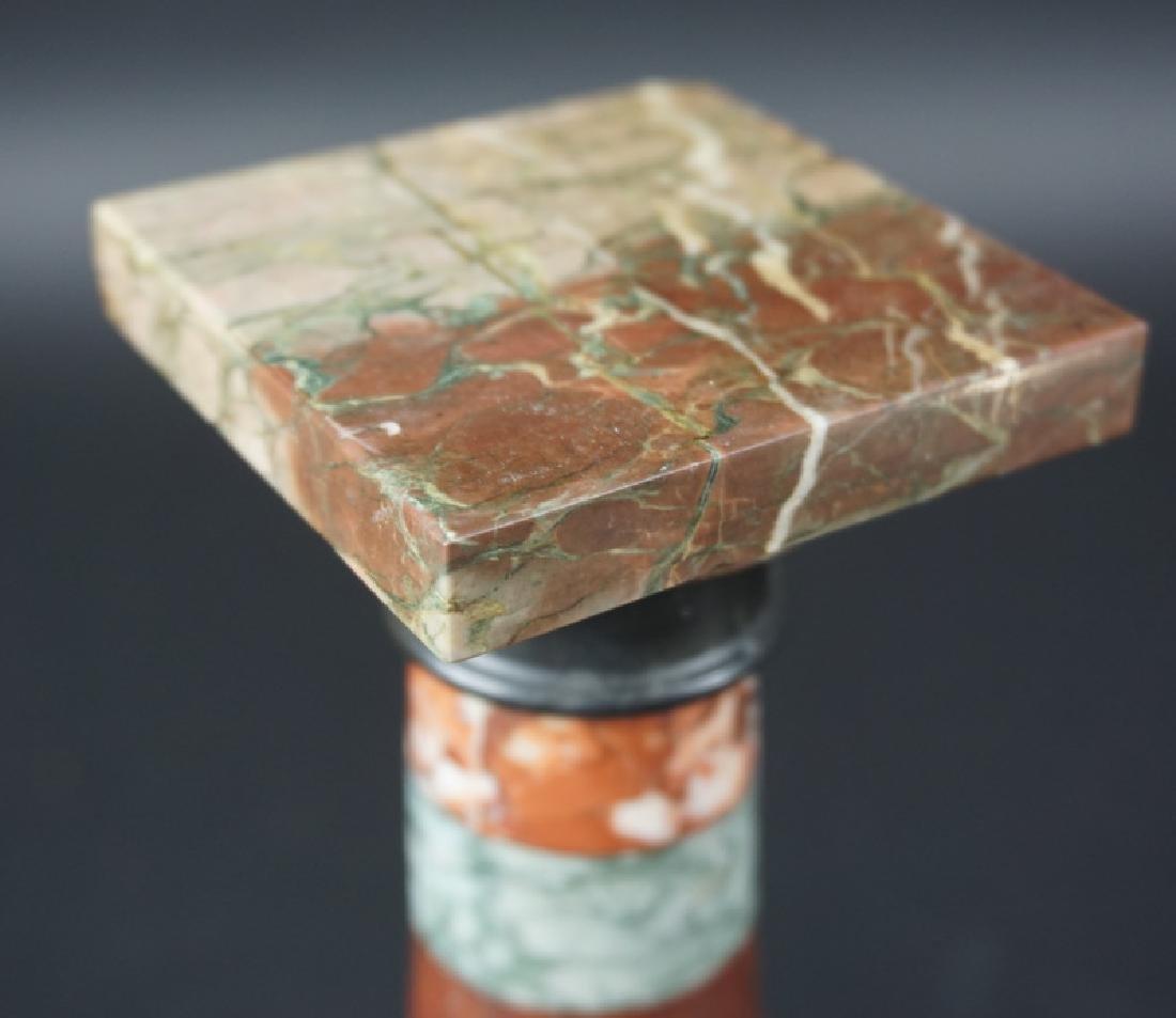 20th Century Miniature Marble Pedestal Plinth - 2