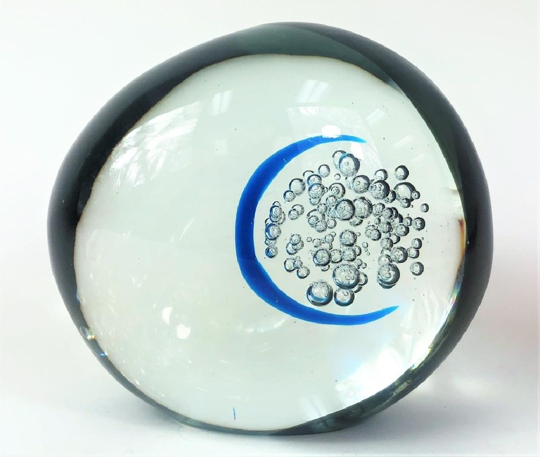 Dedicated 20th Century Signed Art Glass Sculpture - 3
