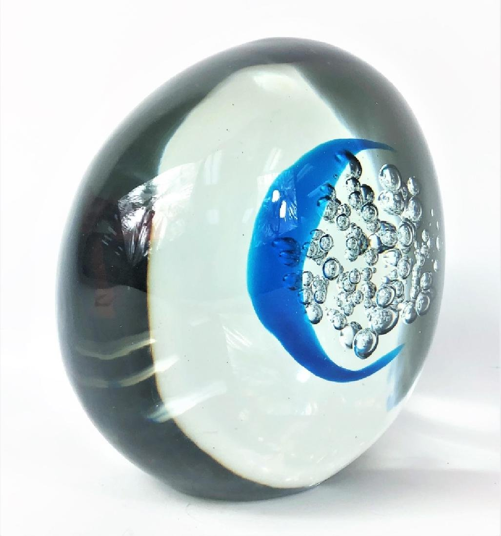 Dedicated 20th Century Signed Art Glass Sculpture - 4