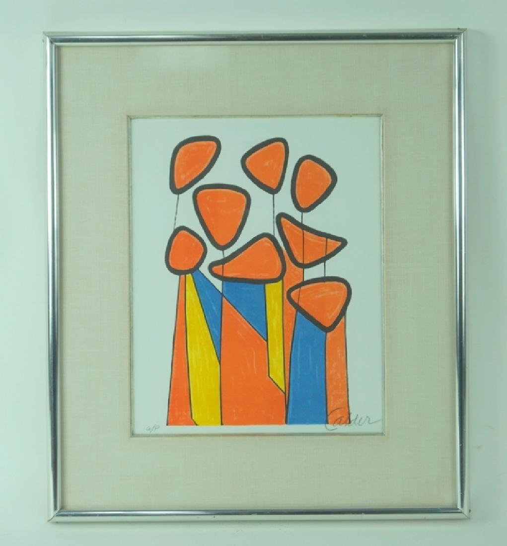 "Alexander Calder ""Squash Blossoms"" Artist Proof - 2"