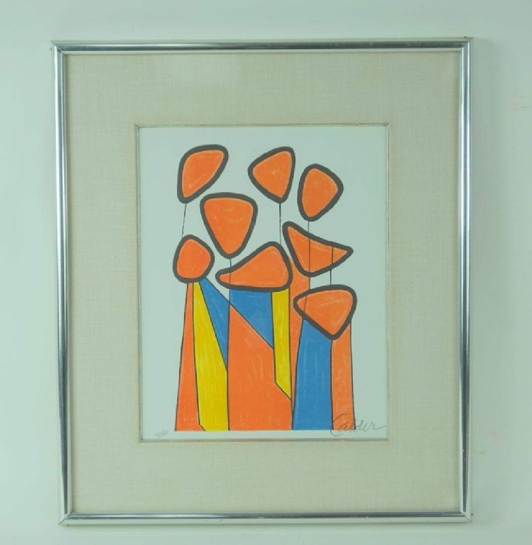 "Alexander Calder ""Squash Blossoms"" Artist Proof - 3"