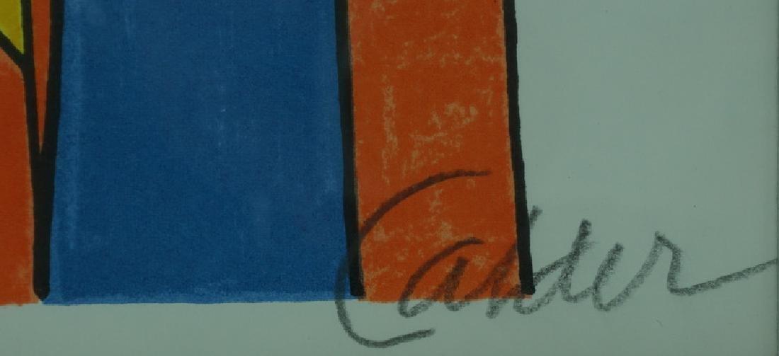 "Alexander Calder ""Squash Blossoms"" Artist Proof - 4"