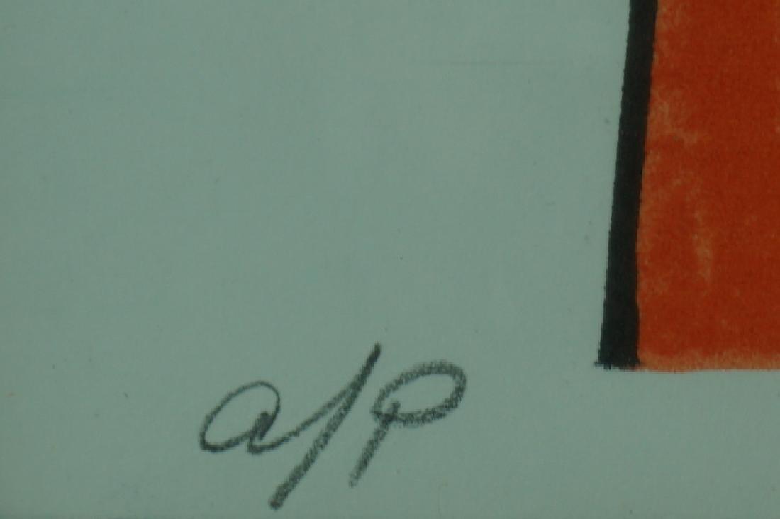 "Alexander Calder ""Squash Blossoms"" Artist Proof - 5"