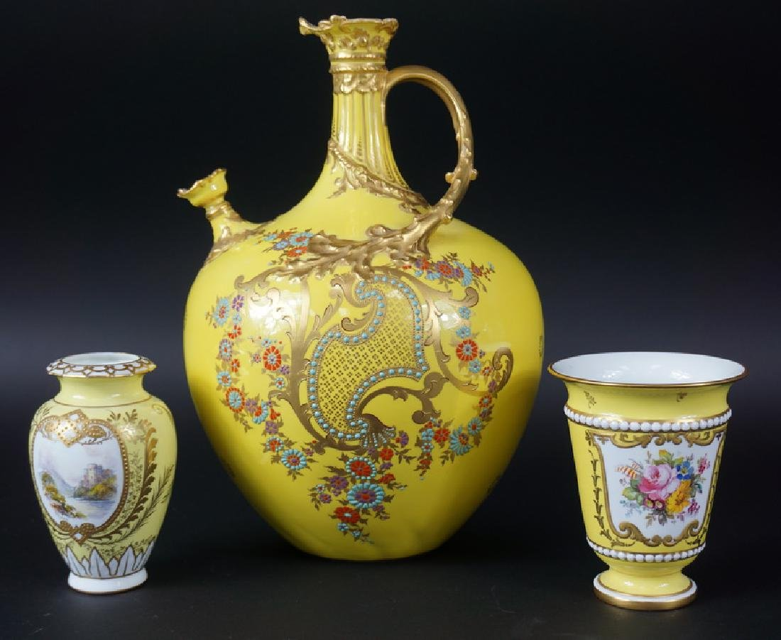 Three Misc Royal Crown Derby Porcelain Items