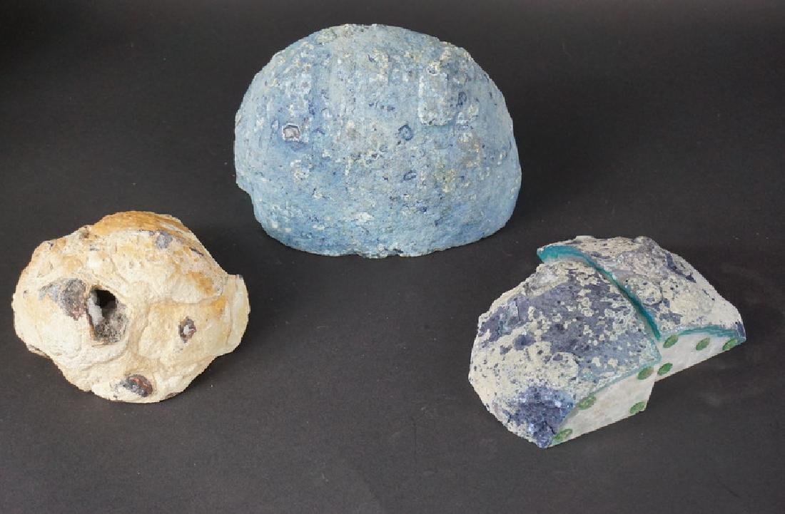 Lot of 4 Raw Geode Specimens - 3