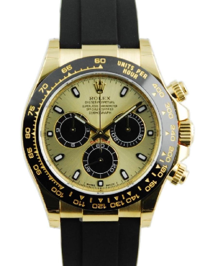 Rolex Daytona Oyster Flex Yellow Gold