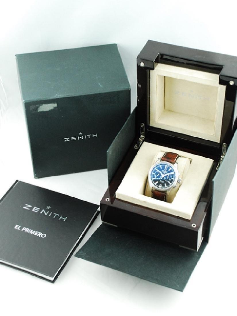 Zenith Pilot Chronograph Black Dial - 03.2117.4002 - 3