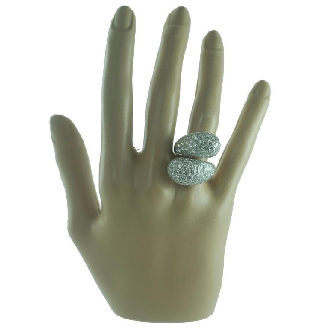 Approx 8.50 carat Diamond Fashion Ring. - 4