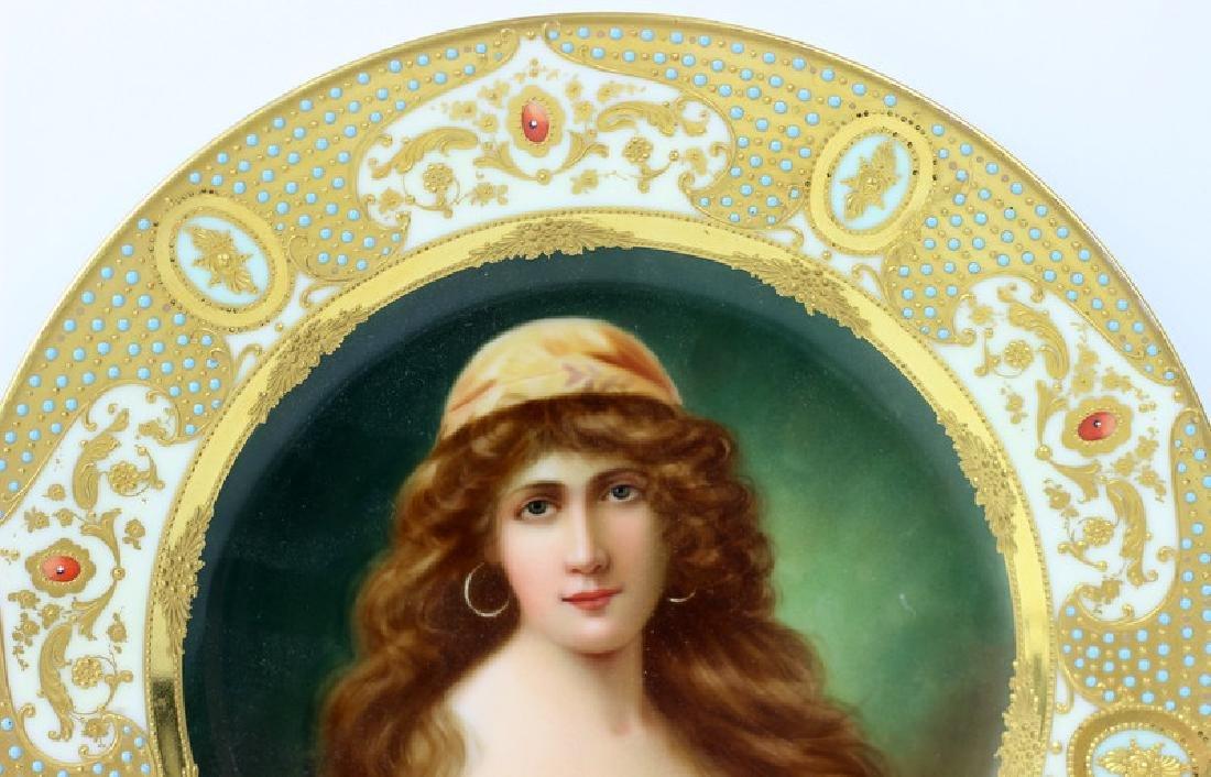 Royal Vienna Porcelain Cabinet Plate. - 3