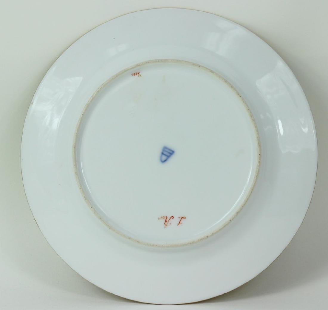 Royal Vienna Porcelain Cabinet Plate. - 4