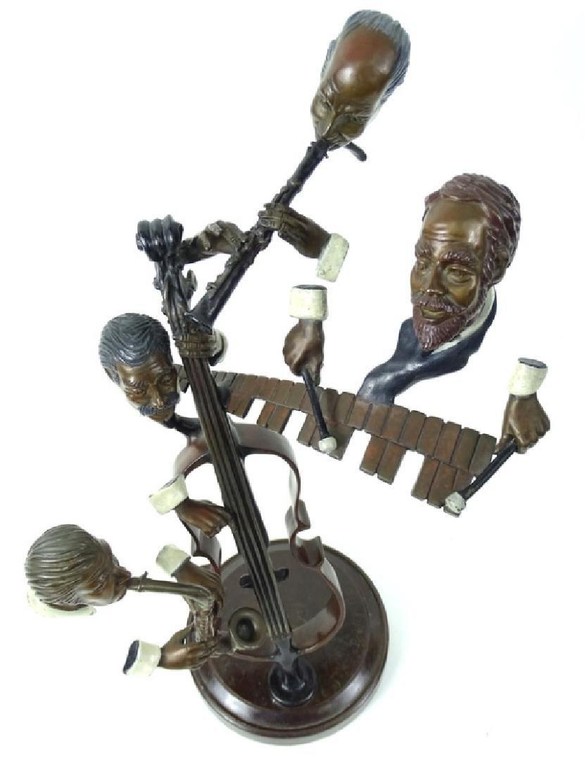 """Paul Wegner """"Bourbon Street"""" Bronze Musicians - 2"""