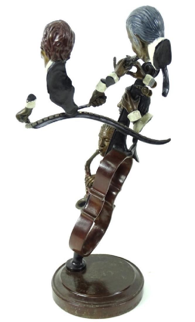 """Paul Wegner """"Bourbon Street"""" Bronze Musicians - 4"""