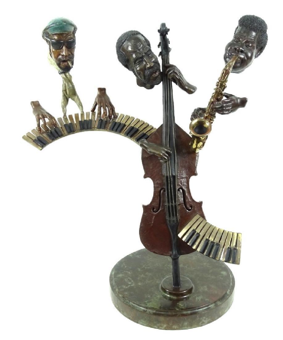 "Paul Wegner ""Close Enough For Jazz"" Bronze Sculpt"