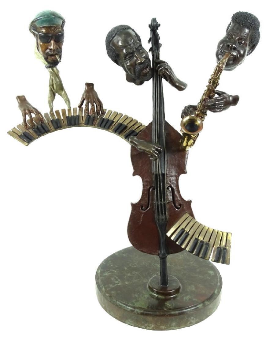 "Paul Wegner ""Close Enough For Jazz"" Bronze Sculpt - 2"