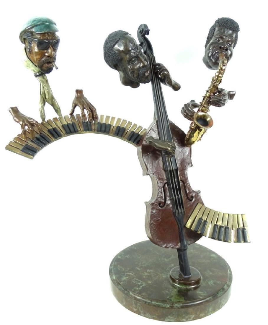 "Paul Wegner ""Close Enough For Jazz"" Bronze Sculpt - 3"