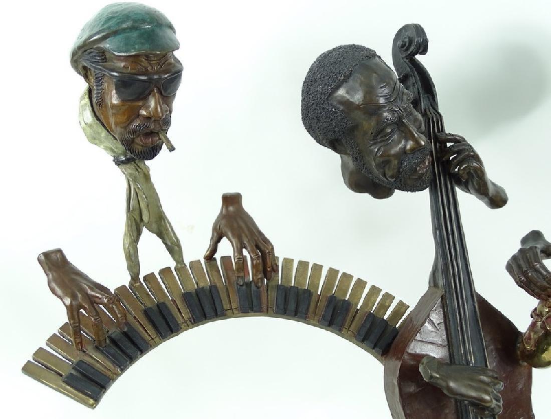 "Paul Wegner ""Close Enough For Jazz"" Bronze Sculpt - 4"
