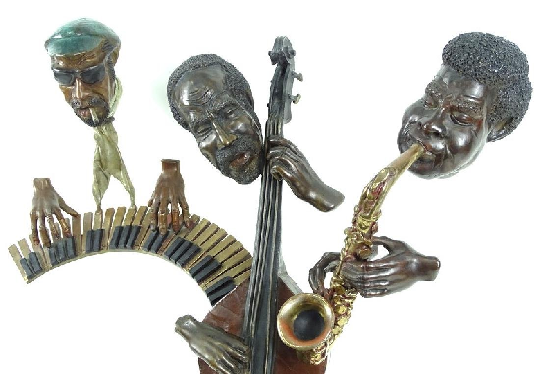 "Paul Wegner ""Close Enough For Jazz"" Bronze Sculpt - 5"