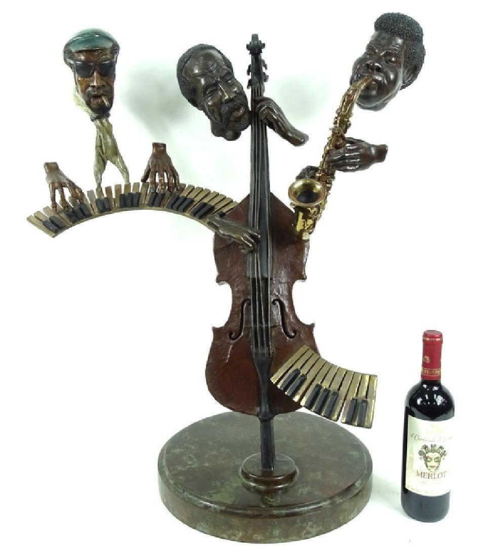 "Paul Wegner ""Close Enough For Jazz"" Bronze Sculpt - 6"
