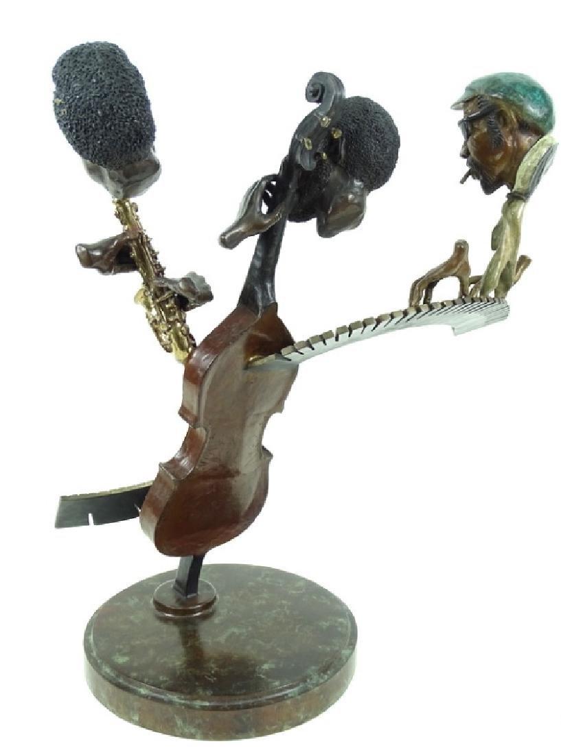 "Paul Wegner ""Close Enough For Jazz"" Bronze Sculpt - 8"