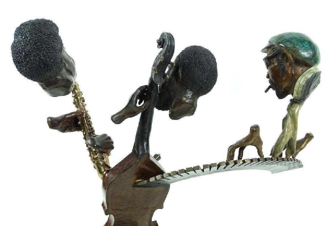 "Paul Wegner ""Close Enough For Jazz"" Bronze Sculpt - 9"