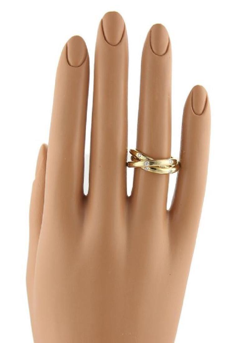 Tiffany & Co. France Diamonds 18k Gold Ring