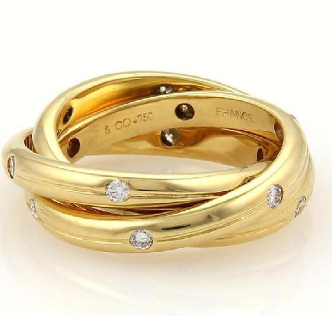 Tiffany & Co. France Diamonds 18k Gold Ring - 2