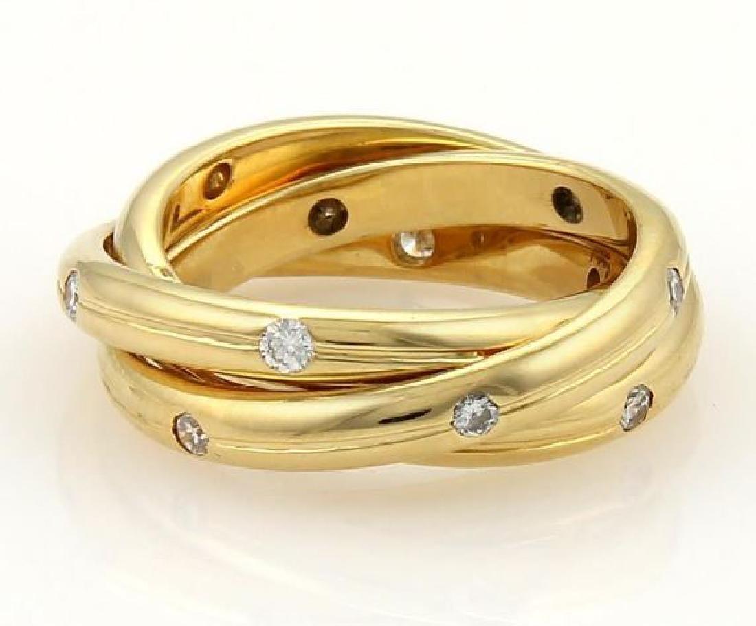 Tiffany & Co. France Diamonds 18k Gold Ring - 3