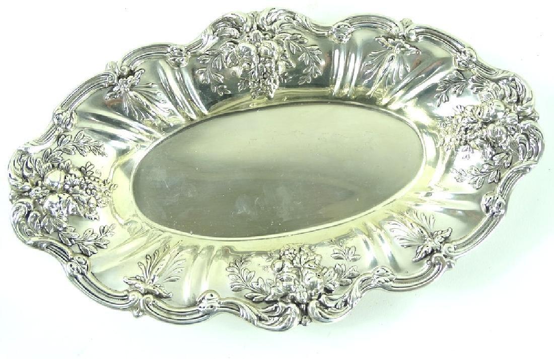 Reed Barton Francis I Sterling Silver Ornate Dish
