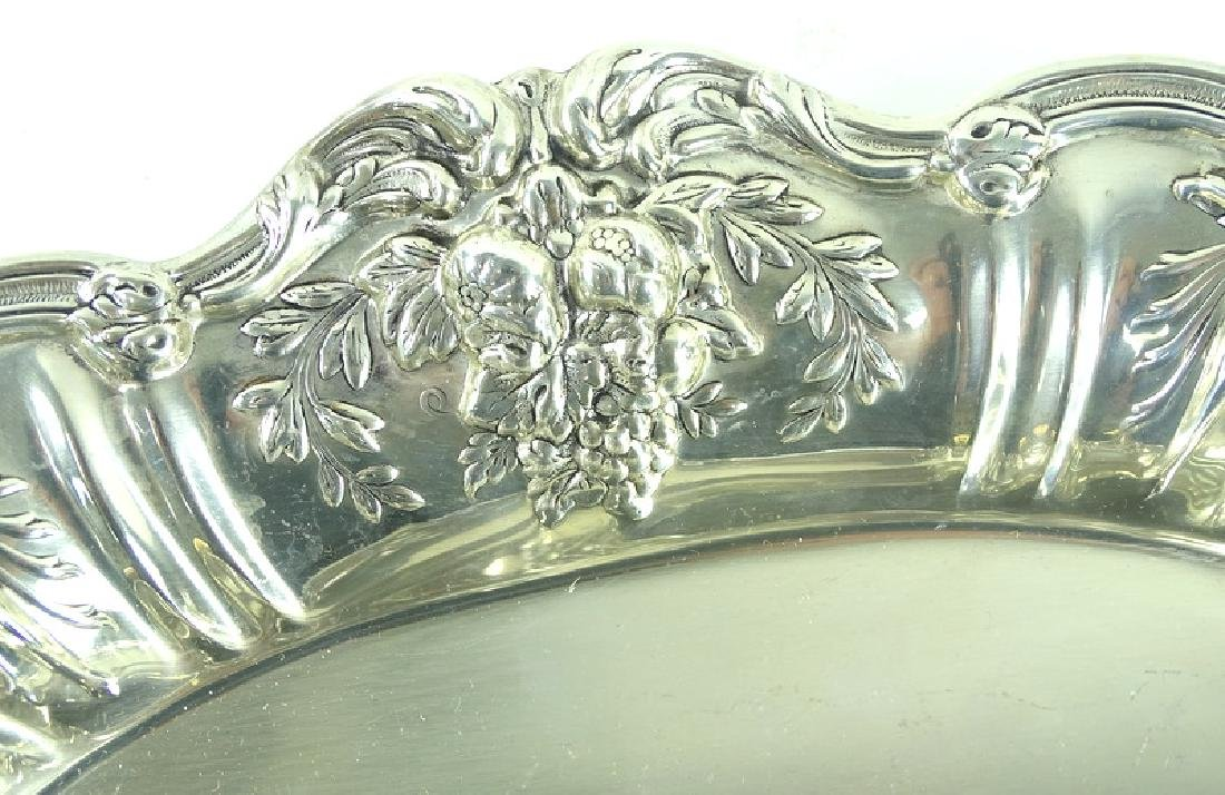 Reed Barton Francis I Sterling Silver Ornate Dish - 2