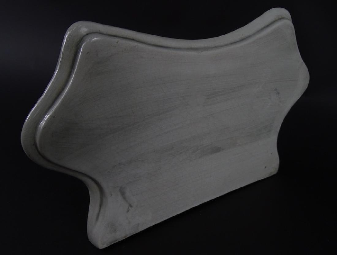 Italian Majolica Porcelain HP Wall Sconce - 2