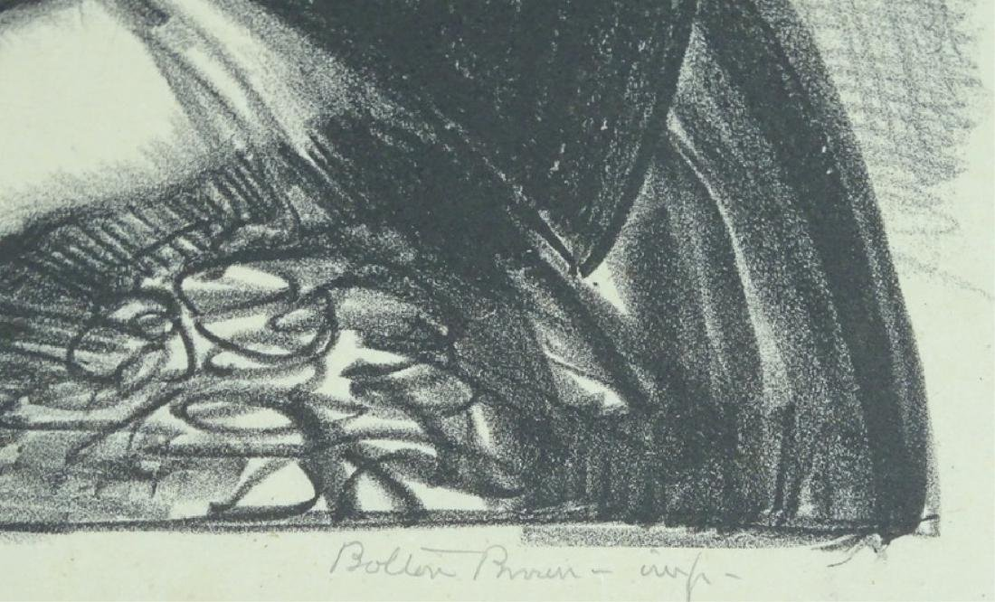 """George Bellows """"The Black Hat"""" Lithograph on Paper - 3"""