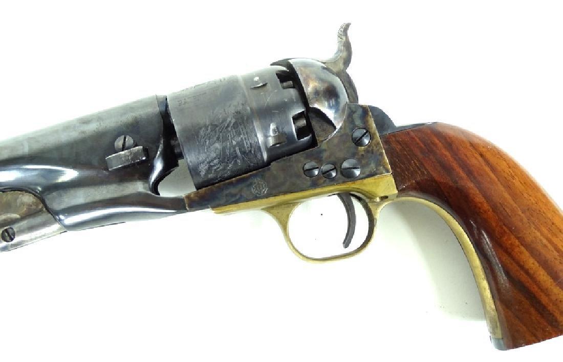 19th C. Italian .44 Caliber Black Powder Hand Gun - 6