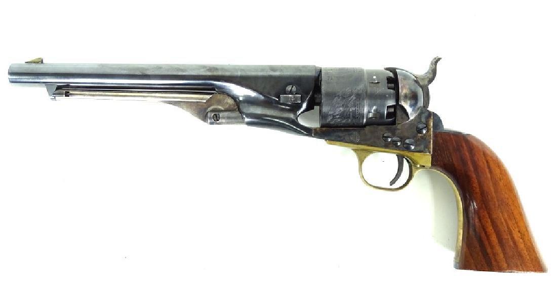 19th C. Italian .44 Caliber Black Powder Hand Gun - 7