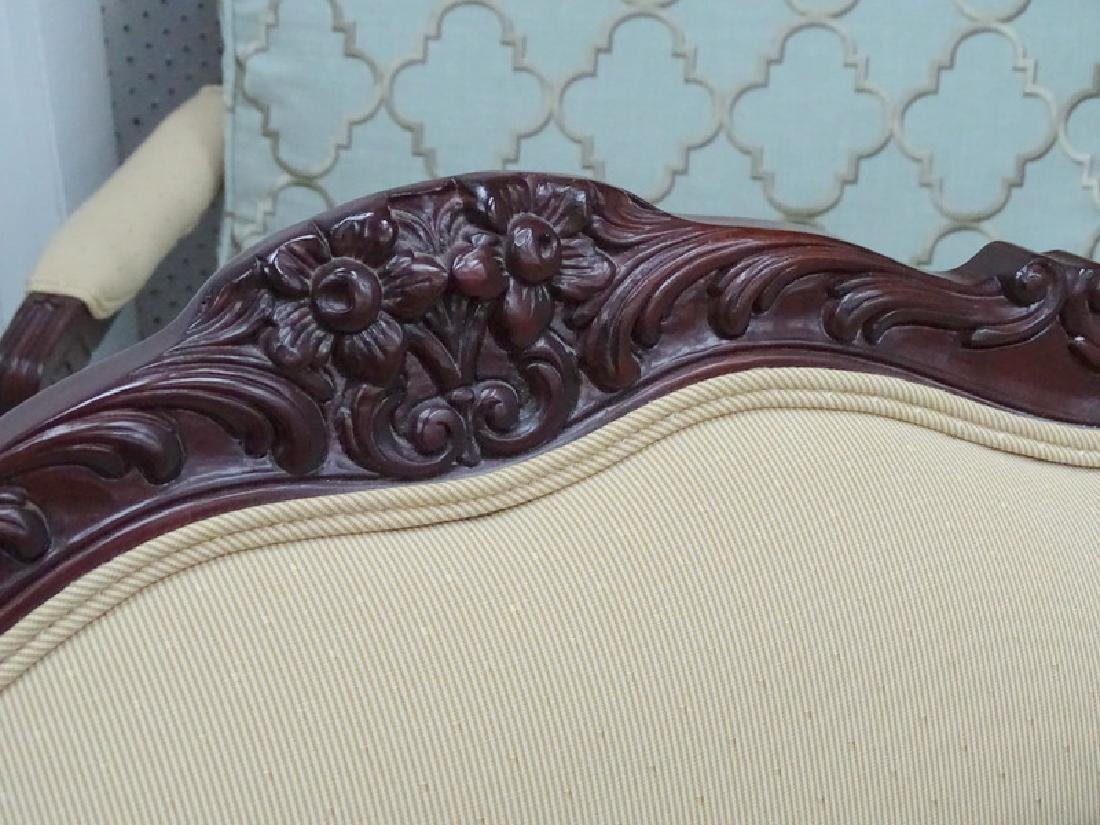 Four French Transitional Style Carved Arm Chairs - 3
