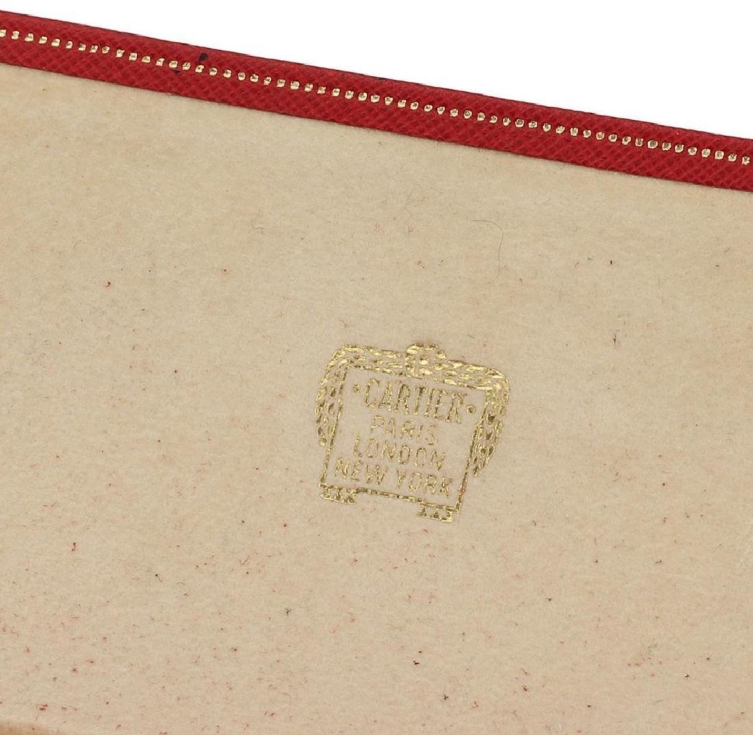 Cartier 18k Gold Gems changeable 8 Set Cufflinks - 2