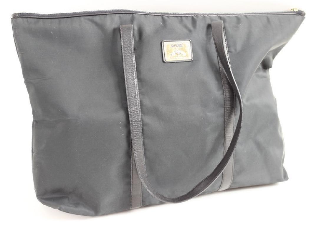 Moschino Black Nylon Tote Bag - 4
