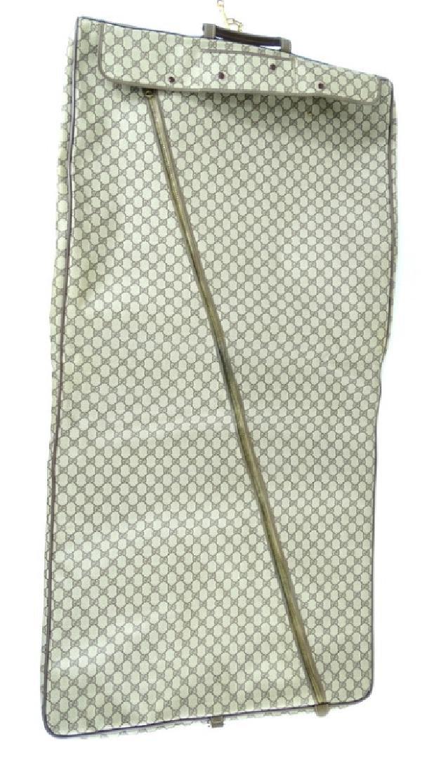 Vintage Gucci Monogram Travel Garment Bag