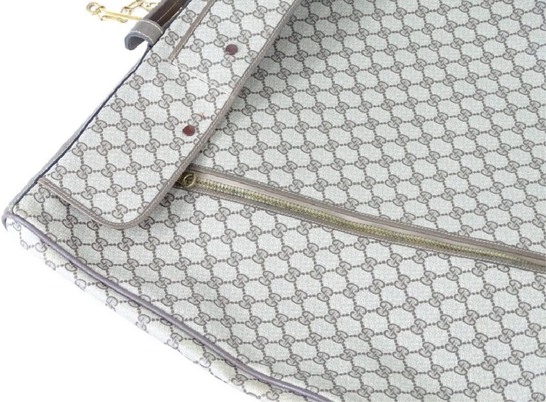 Vintage Gucci Monogram Travel Garment Bag - 2