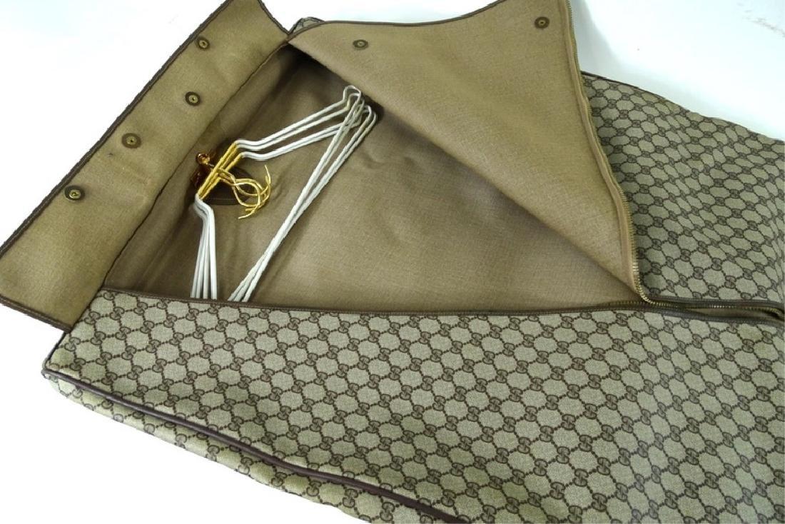 Vintage Gucci Monogram Travel Garment Bag - 4