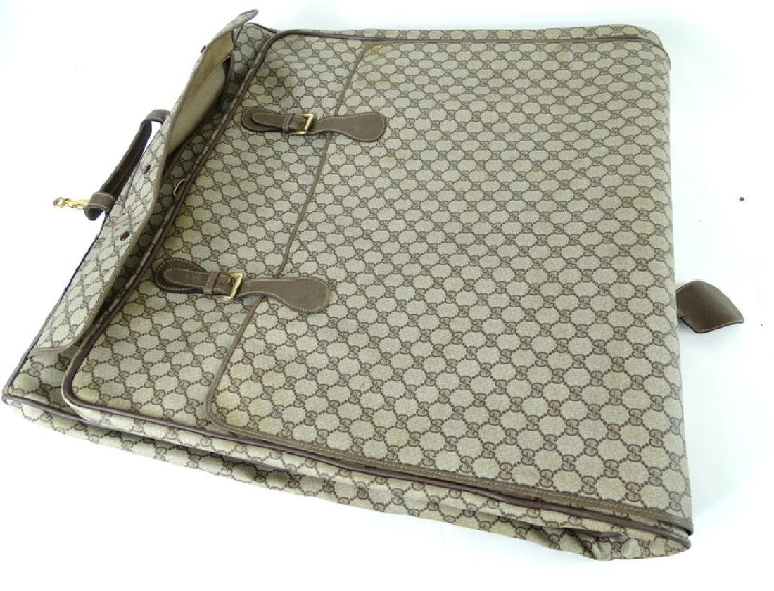Vintage Gucci Monogram Travel Garment Bag - 5